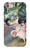 Dancer with a Bouquet of Flowers (The Star of the Ballet) iPhone 7 Case by Edgar Degas
