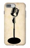 Vintage Microphone iPhone 7 Plus Case by  NaxArt