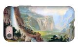 Half Dome in Yosemite iPhone 7 Case by Albert Bierstadt