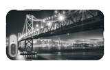 San Francisco Cityscape in Black and White, Bay Bridge iPhone 7 Plus Case by Vincent James