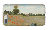 Poppy Field, Near Argenteuil, c.1873 iPhone 7 Plus Case by Claude Monet