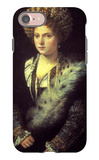 Isabella in Black iPhone 7 Case by  Titian
