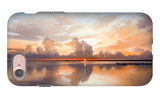 Sunset over Lake iPhone 7 Case by Bruce Nawrocke
