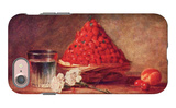 The Strawberry Basket iPhone 7 Case by Jean-Baptiste Simeon Chardin