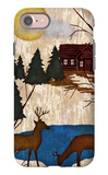 Cabin in the Woods I iPhone 7 Case by Nicholas Biscardi