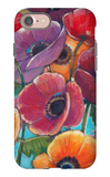 Electric Poppies 1 iPhone 7 Case by Norman Wyatt Jr.
