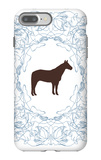 Blue Stallion iPhone 7 Plus Case by  Avalisa
