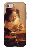 The Lacemaker iPhone 7 Case by Jan Vermeer