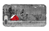 Red Barn iPhone 7 Plus Case by  dbriyul