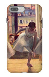 Three Dancers in a Practice Room iPhone 7 Plus Case by Edgar Degas