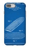 Surf Board Patent iPhone 7 Plus Case