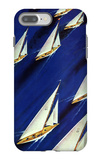 """Sailboat Regatta,"" June 29, 1940 iPhone 7 Plus Case by Ski Weld"