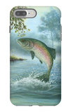 Rainbow Trout Jumping iPhone 7 Plus Case