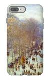 Boulevard Capucines iPhone 7 Plus Case by Claude Monet