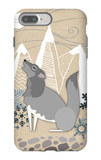 Winter Wolf Howling iPhone 7 Plus Case by  Lantern Press