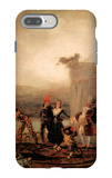 Comicos Ambulantes iPhone 7 Plus Case by Francisco de Goya