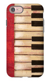 Piano Keys iPhone 7 Case by  Hakimipour-ritter