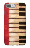 Piano Keys iPhone 7 Plus Case by  Hakimipour-ritter