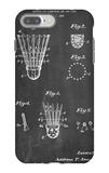 Badminton Shuttle Patent iPhone 7 Plus Case