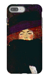 Lady with Hat and Feather iPhone 7 Plus Case by Gustav Klimt