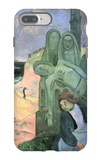 Green Christ iPhone 7 Plus Case by Paul Gauguin