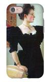 Portrait of Marie Breunig iPhone 7 Case by Gustav Klimt