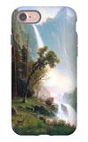 Yosemite Falls iPhone 7 Case by Albert Bierstadt