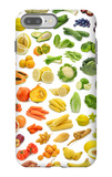 Collection Of Fruits And Vegetables iPhone 7 Plus Case by  egal