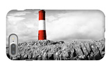 Lighthouse Border iPhone 7 Plus Case by Anna Coppel