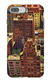 """Bird's-Eye View of New York City,"" August 17, 1946 iPhone 7 Plus Case by John Falter"