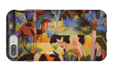Landscape with Cows and Camels iPhone 7 Plus Case by Auguste Macke