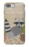 Spring Time Raccoon iPhone 7 Plus Case by  Lantern Press