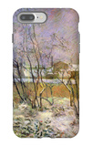 Snow in Rue Carcel iPhone 7 Plus Case by Paul Gauguin