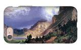 Storm in the Rockies, Mt. Rosalie iPhone 7 Case by Albert Bierstadt