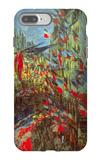 Rue Saint-Denis in Paris, Celebration of 30th June 1878 iPhone 7 Plus Case by Claude Monet