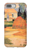 Farmhouses in Arles iPhone 7 Plus Case by Paul Gauguin