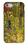 Garden with Crucifix iPhone 7 Case by Gustav Klimt