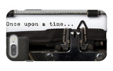 """Words """"Once Upon A Time"""" Written With Old Typewriter iPhone 7 Plus Case by  foodbytes"""