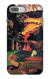 Landscape with Peacocks iPhone 7 Plus Case by Paul Gauguin