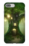 Fantasy Tree House iPhone 7 Plus Case by  egal