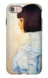 Portrait of Helene Klimt iPhone 7 Case by Gustav Klimt