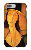 Portrait of Jeanne Hebuterne in a Large Hat iPhone 7 Plus Case by Amedeo Modigliani