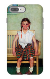 """Shiner"" or ""Outside the Principal's Office"", May 23,1953 iPhone 7 Plus Case by Norman Rockwell"