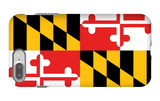 Maryland - State Flag iPhone 7 Plus Case by  Lantern Press