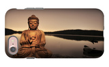 Golden Buddha Lakeside iPhone 7 Case by Jan Lakey