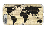 Vintage World Map iPhone 7 Plus Case by Devon Ross