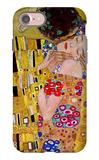 The Kiss (Detail) iPhone 7 Case by Gustav Klimt