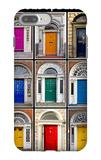 The Old Georgian Doors Of Dublin iPhone 7 Plus Case by Domenico Matteo