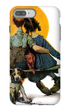 """Little Spooners"" or ""Sunset"", April 24,1926 iPhone 7 Plus Case by Norman Rockwell"