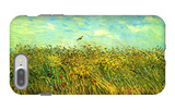 Wheat Field with a Lark iPhone 7 Plus Case by Vincent van Gogh